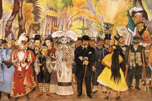 2-Diego-Rivera-Dream-of-a-Sunday-Afternoon-in-Alameda-Park-1948-Image-via
