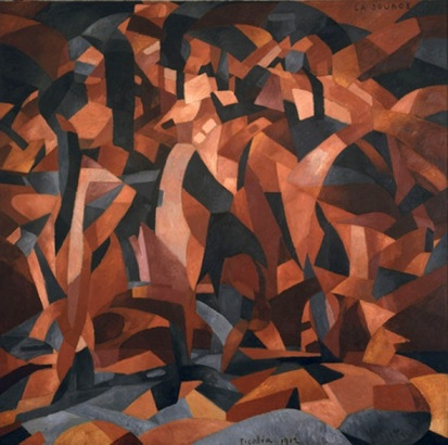Francis_Picabia,_1912,_La_Source,_The_Spring,_oil_on_canvas,_249.6_x_249.3_cm,_Museum_of_Modern_Art,_New_York._Exhibited,_1912_Salon_d'Automne,_Paris
