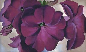 Georgia-OKeeffe-Petunias-1924