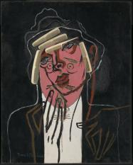 The Handsome Pork-Butcher c.1924-6, c.1929-35 Francis Picabia 1879-1953 Accepted by HM Government in lieu of tax and allocated to the Tate Gallery 1996 http://www.tate.org.uk/art/work/T07108